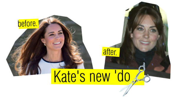 KATE'S NEW HAIR