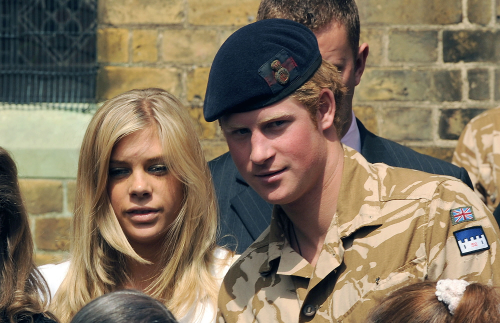 Prince Harry and girlfriend Chelsy Davy leave a service of remembrance for those who have died in Afghanistan, at the Army Garrison Church in Windsor. London, England - 05.05.08 Featuring: Prince Harry and girlfriend Chelsy Davy Where: London, United Kingdom When: 05 May 2008 Credit: Anwar Hussein/ WENN
