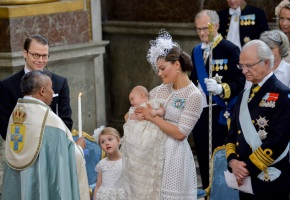 The Christening of Prince Oscar of Sweden (In Photos)