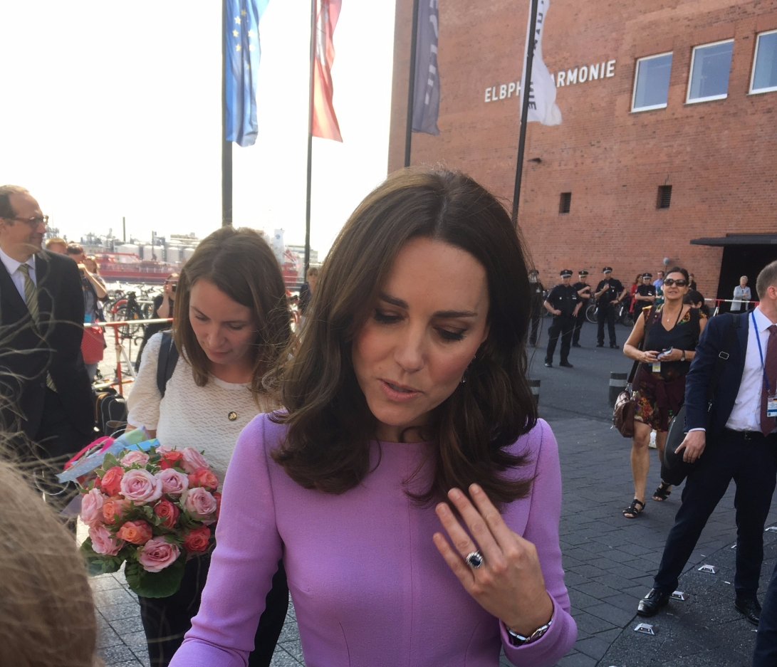 Kate in Hamburg