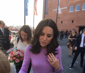 Part 1. The time I chatted with Will & Kate inHamburg